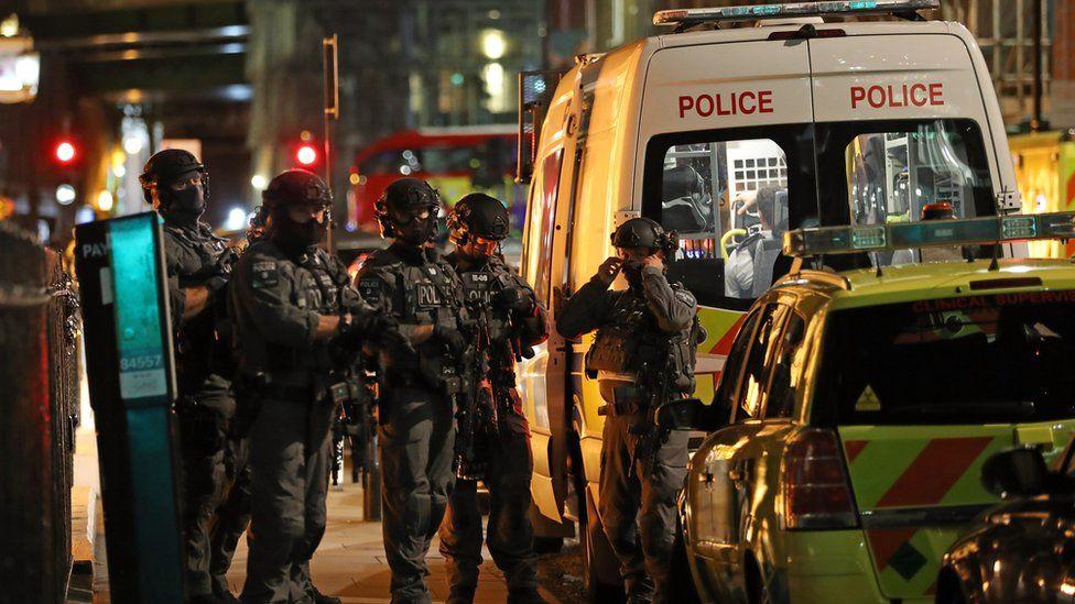 Counter-terrorism specialist firearm officers were in attendance