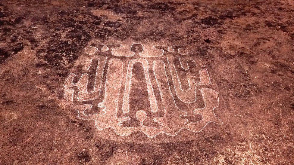 Petroglyph people