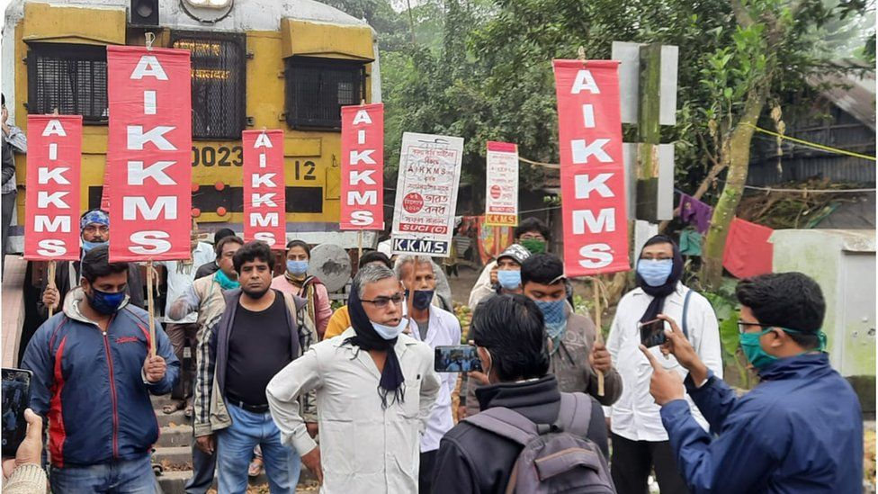 Farmers are protesting across states in India