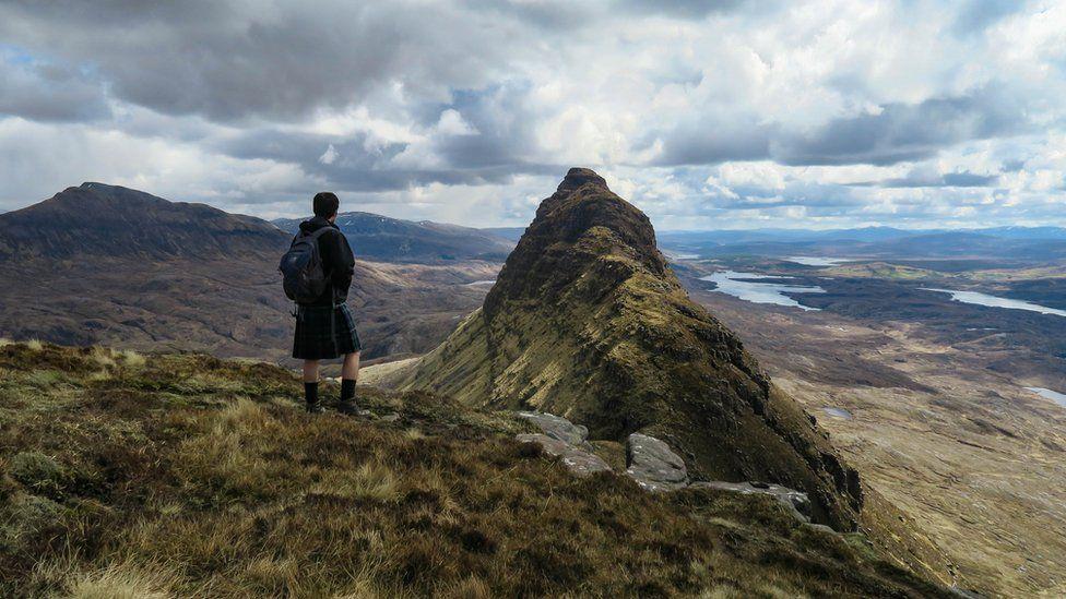 Neil on a mountain