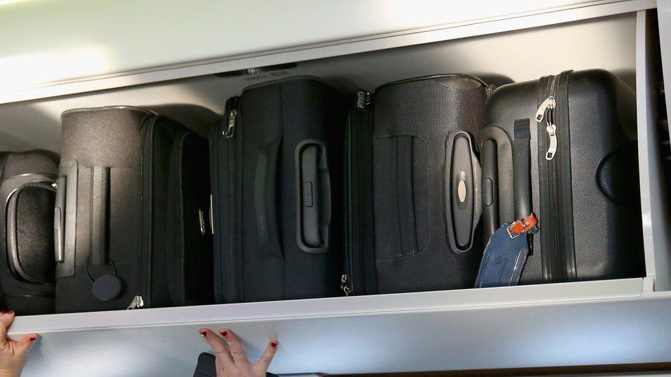 Overhead locker. File photo