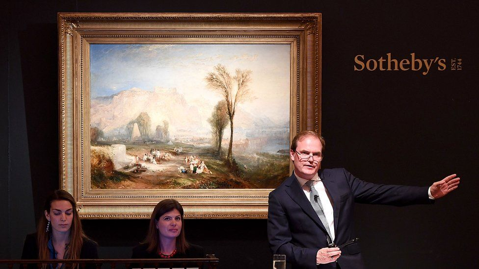 Auction of Turner painting