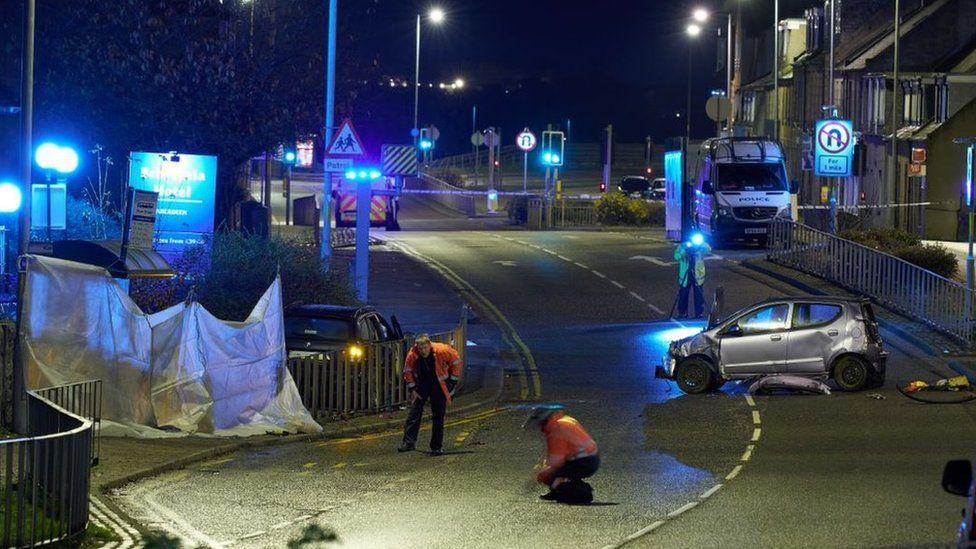 Man charged after pedestrian dies in Aberdeen collision