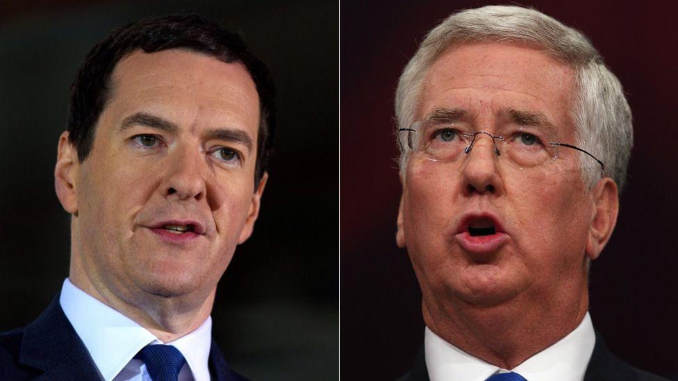 George Osborne and Michael Fallon