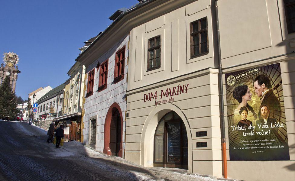 The House of Marina in Banska Stiavnica