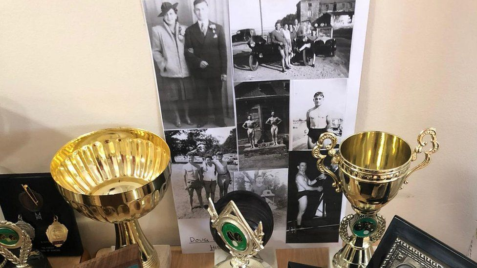 Photos and trophies