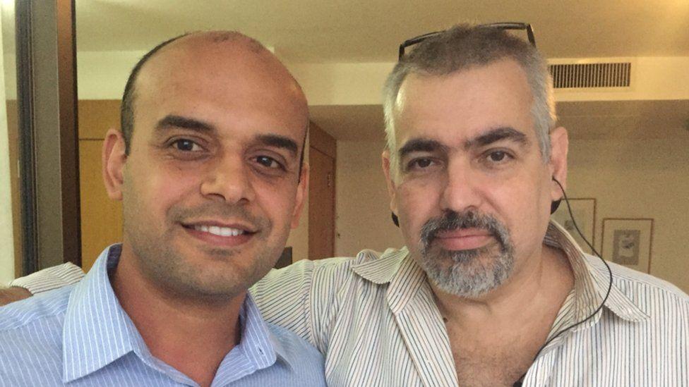 Dennis Coli and Henrique Coelho Caamano