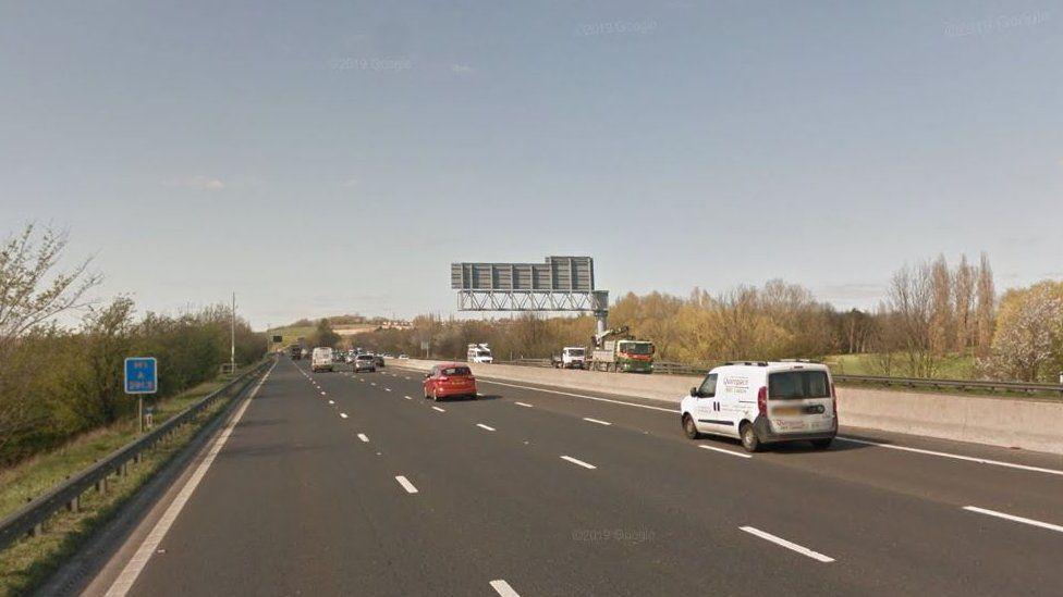 Junction 39 M1 motorway