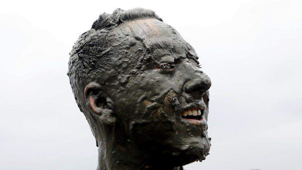 A scene from this year's Boryeong Mud Festival in South Korea