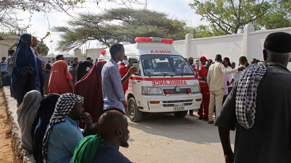 The Man Behind Somalia S Only Free Ambulance Service Bbc News Gifs with sound call an ambulance but not for me. free ambulance service