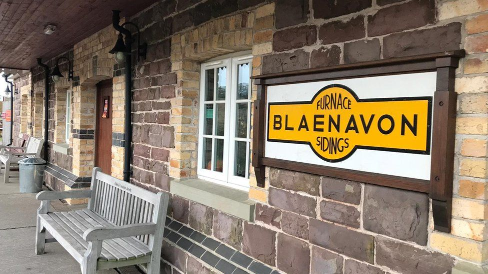Pontypool and Blaenavon Railway sidings