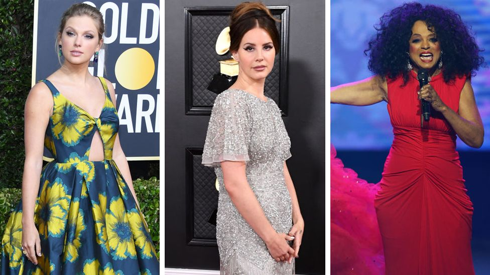 Taylor Swift, Lana Del Rey and Diana Ross