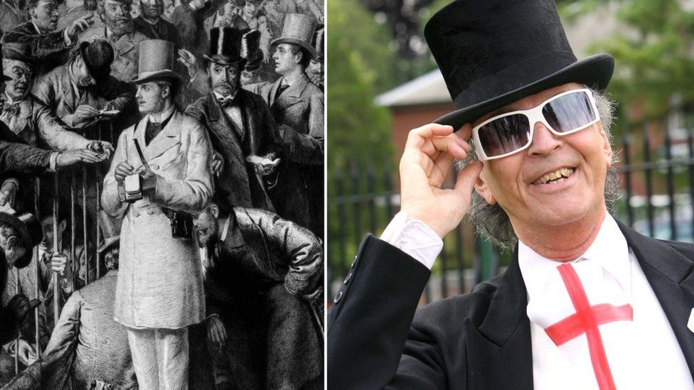 Ascot tie then and now
