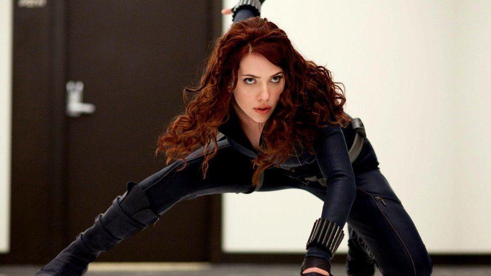 Black Widow (Scarlett Johansson) is a major presence in the Avengers movies, but its not merchandise