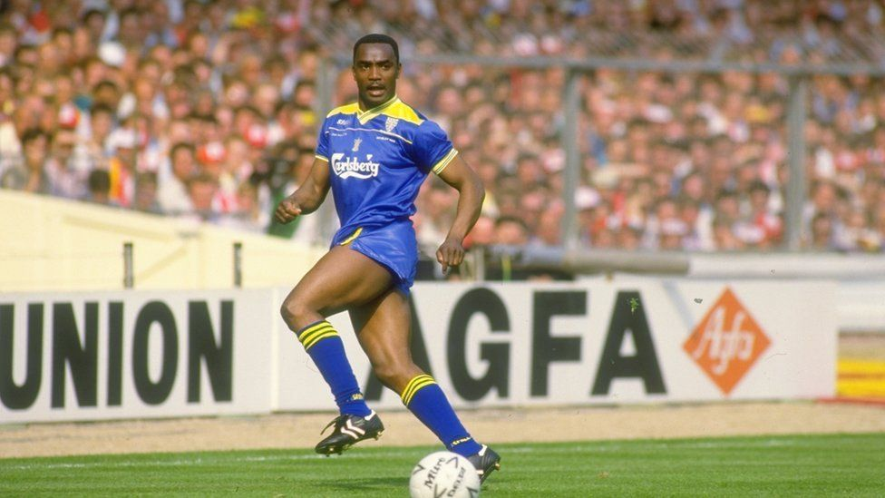 Laurie Cunningham in action for Wimbledon FC