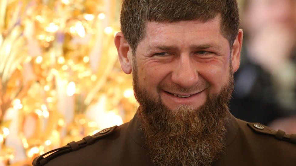 Leader Ramzan Kadyrov at November 2018 event