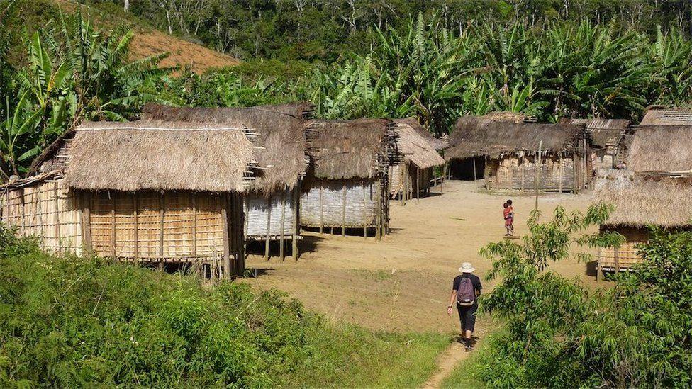 Remote village, Madagascar