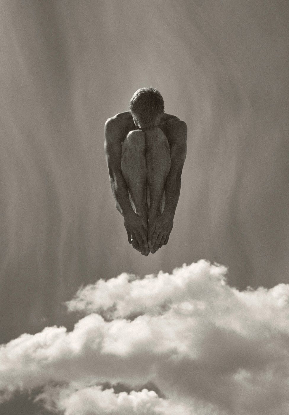 Photograph of a Danish gymnast in the air by Jonathan Anderson and Edwin Low
