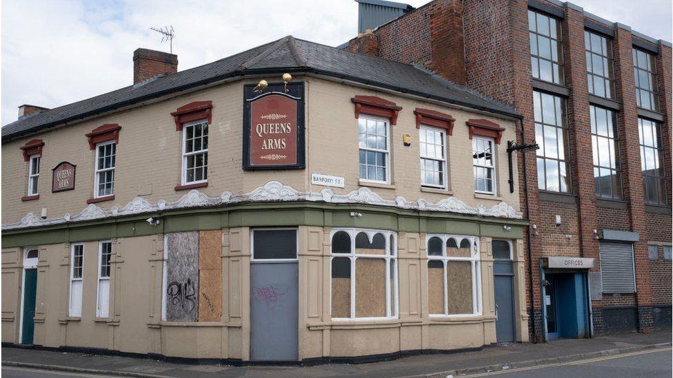 A pub that has closed down