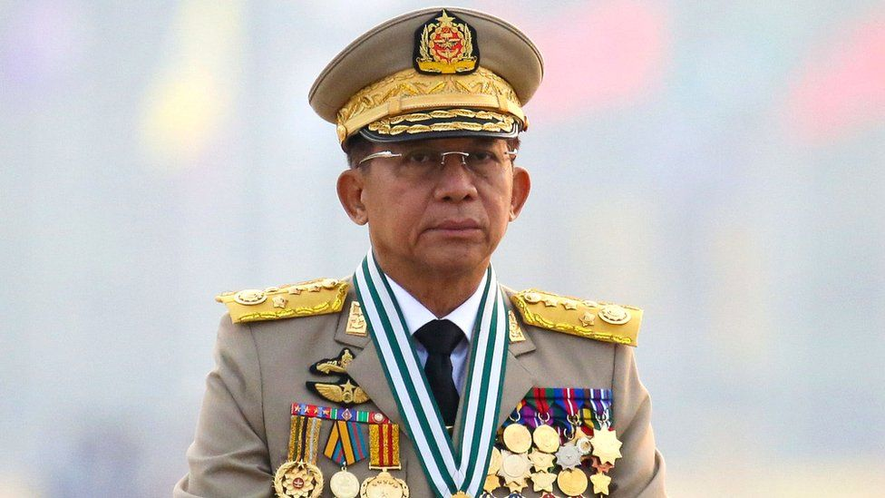 Myanmar: Military chief set to make first foreign trip since coup thumbnail