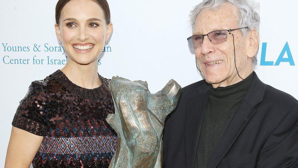 Natalie Portman and Amos Oz