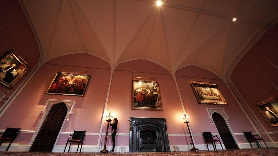 Auckland Castle interior
