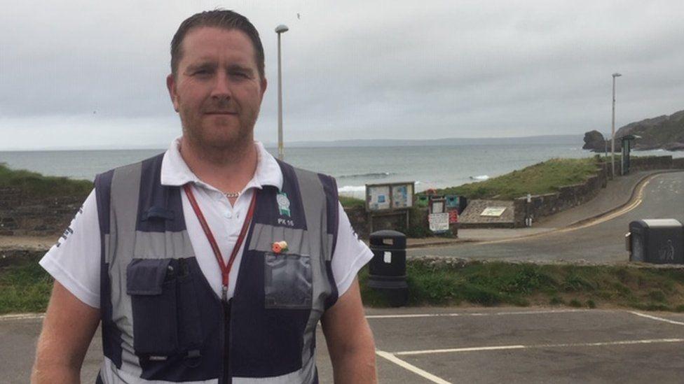 Mark Davies, Civil Enforcement Officer, Pembrokeshire County Council