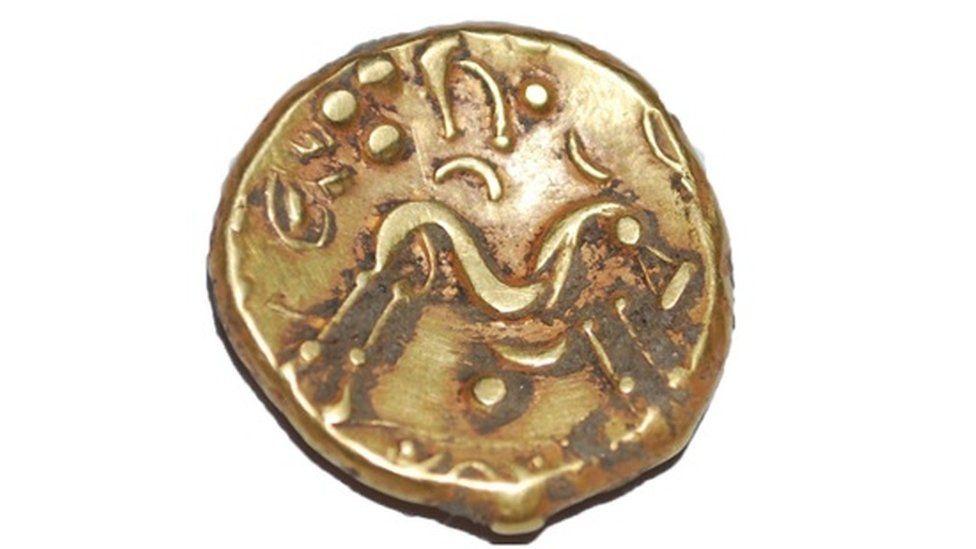 Gallic War Uniface coin