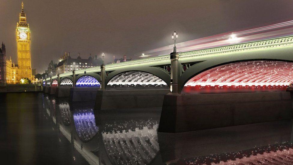 Design for Illuminated River project