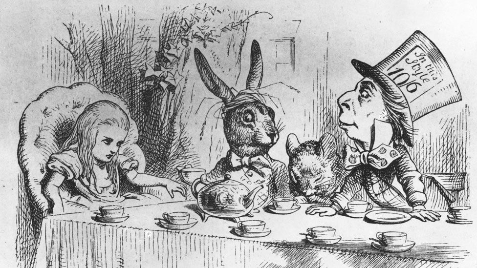 Alice in Wonderland illustration by Sir John Tenniel