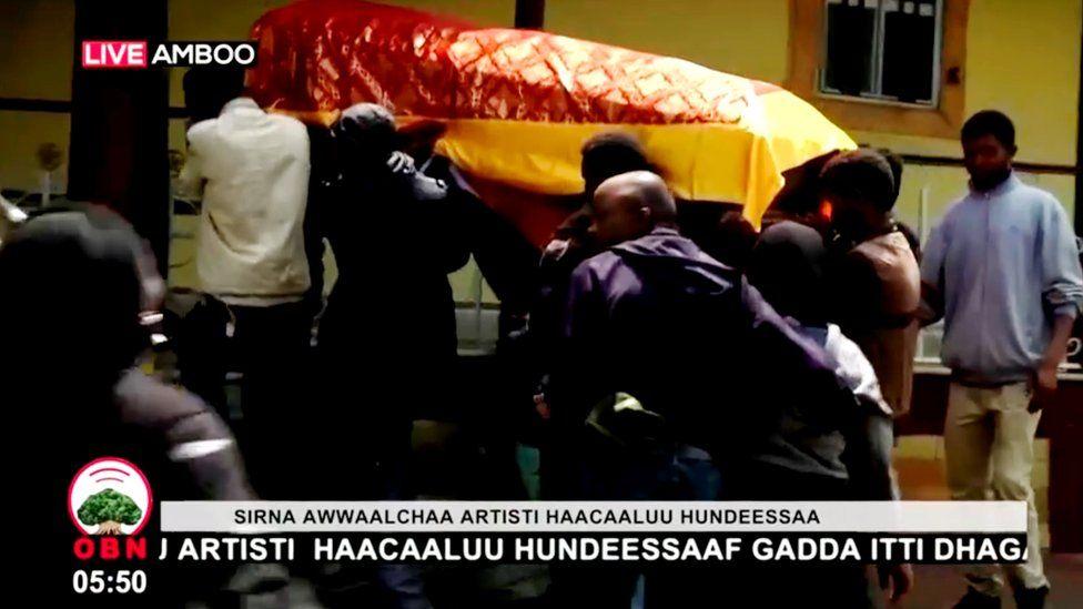 Funeral of Hachalu