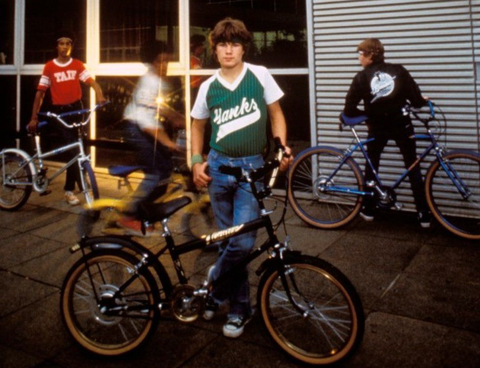 Child with Raleigh Grifter in Brighton, 1980s