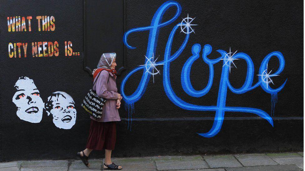 Graffiti in Ireland