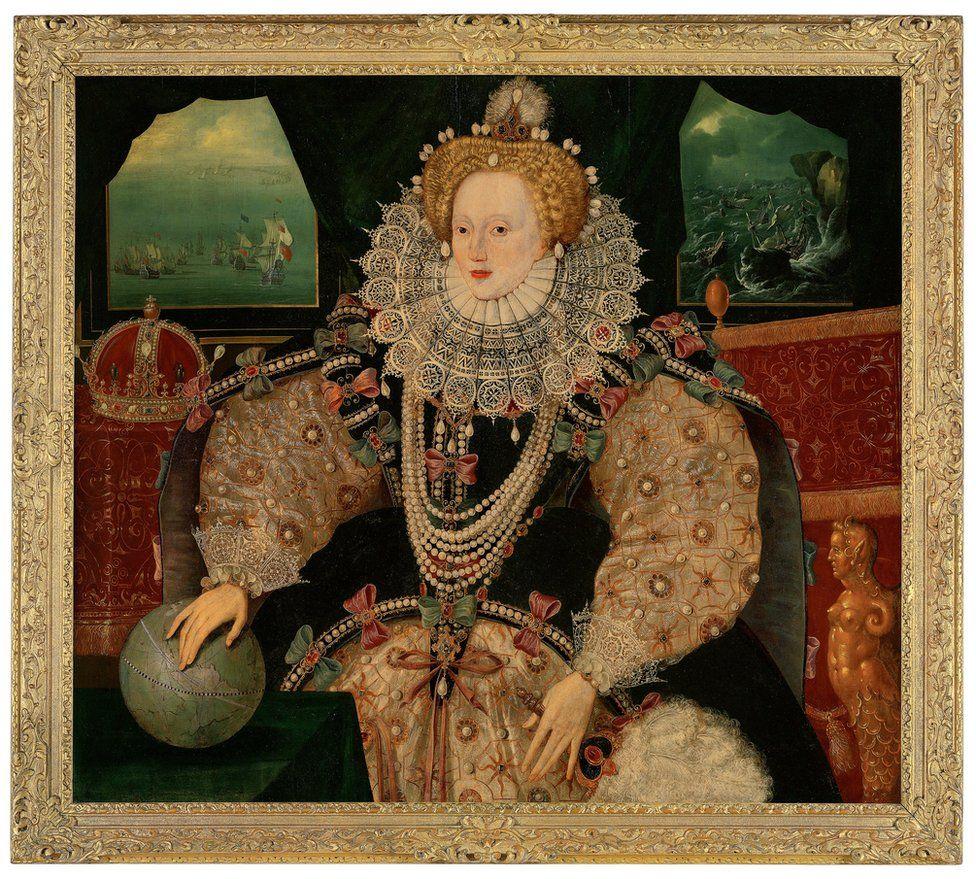The Armada portrait of Elizabeth I