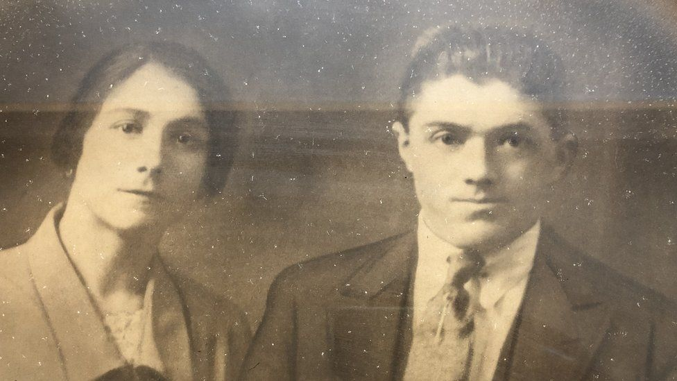 Dom Balestrazzi parents Maria and Giuseppe, also known as Joe