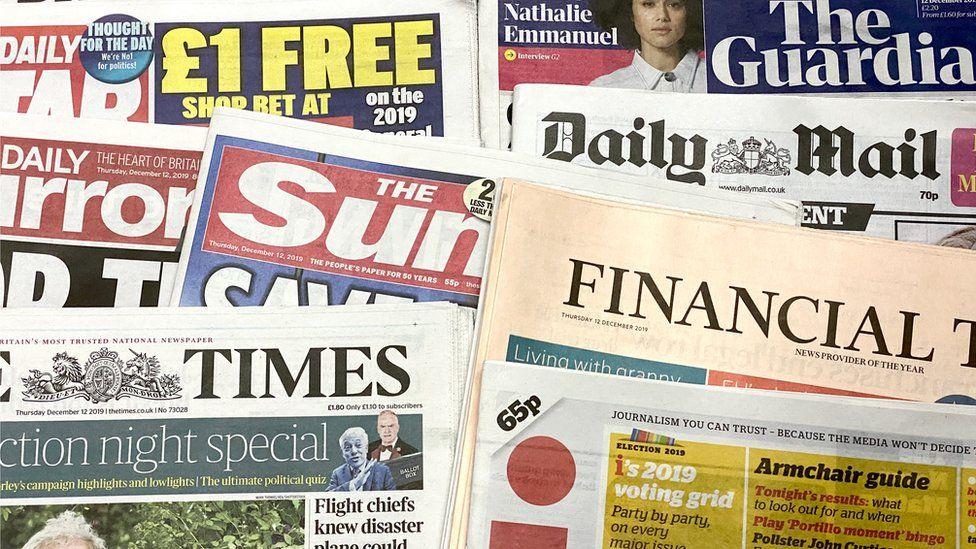 Newspaper headlines: Bellamy tributes and Myanmar 'genocide denial'