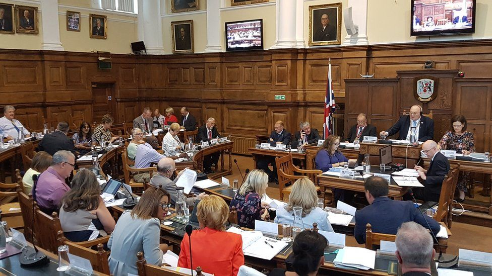 Northamptonshire County Council met on Thursday to discuss cuts to services