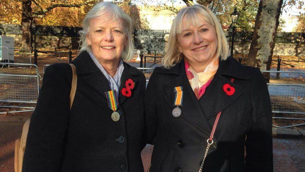 Helen Wightman and Julie Jones