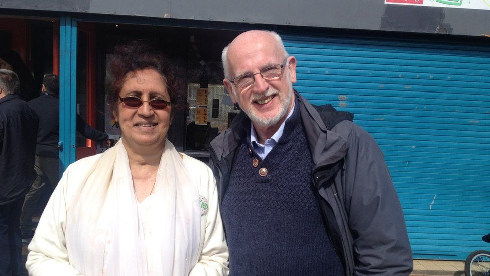 Muslim and Christian, Yasmin Khan and Aled Edwards, frequently work together to promote community cohesion