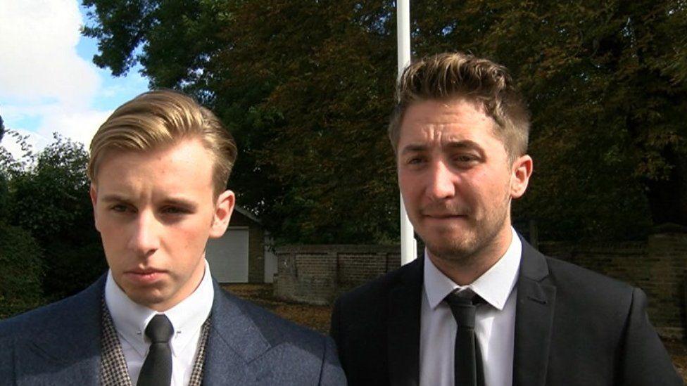 Ben Barker and Jason Woods