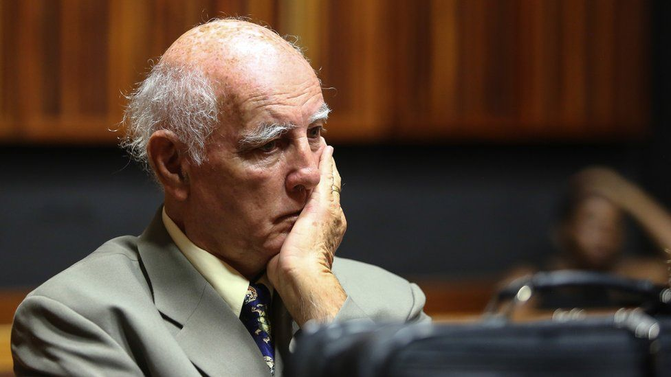 Bob Hewitt: South Africa stops early release of rapist former tennis star