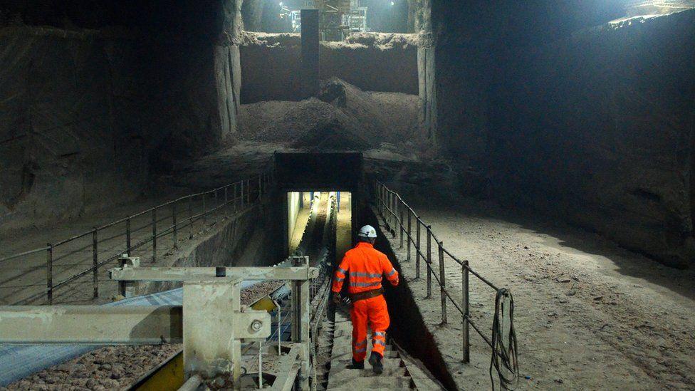 Mining engineer at Winsford Mine