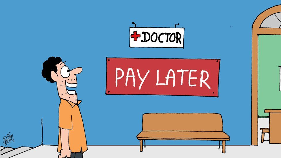 Paying later at the doctor