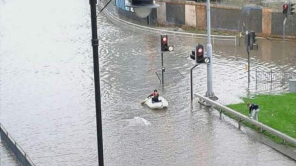 Leeds flood of 2015