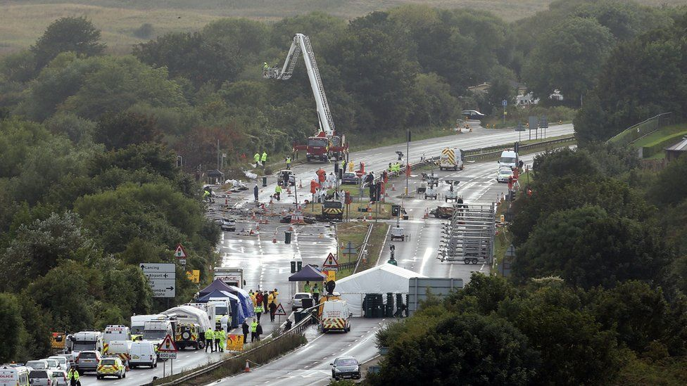 Shoreham Airshow crash pilot acquitted over deaths - BBC News