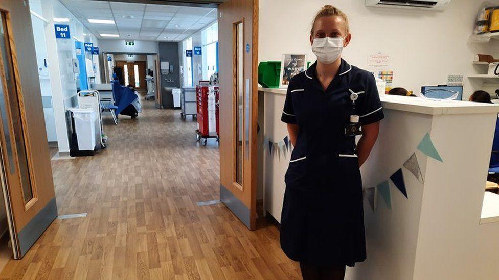 Bethany Ricketts, a senior sister at Addenbrooke's Hospital