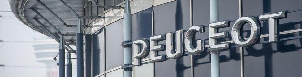 Peugeot building
