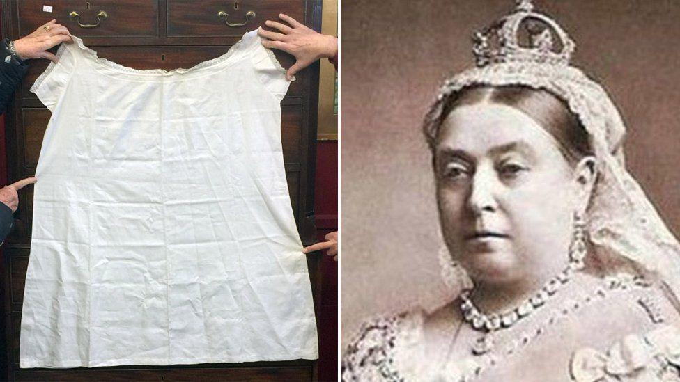 Chemise belonging to Queen Victoria