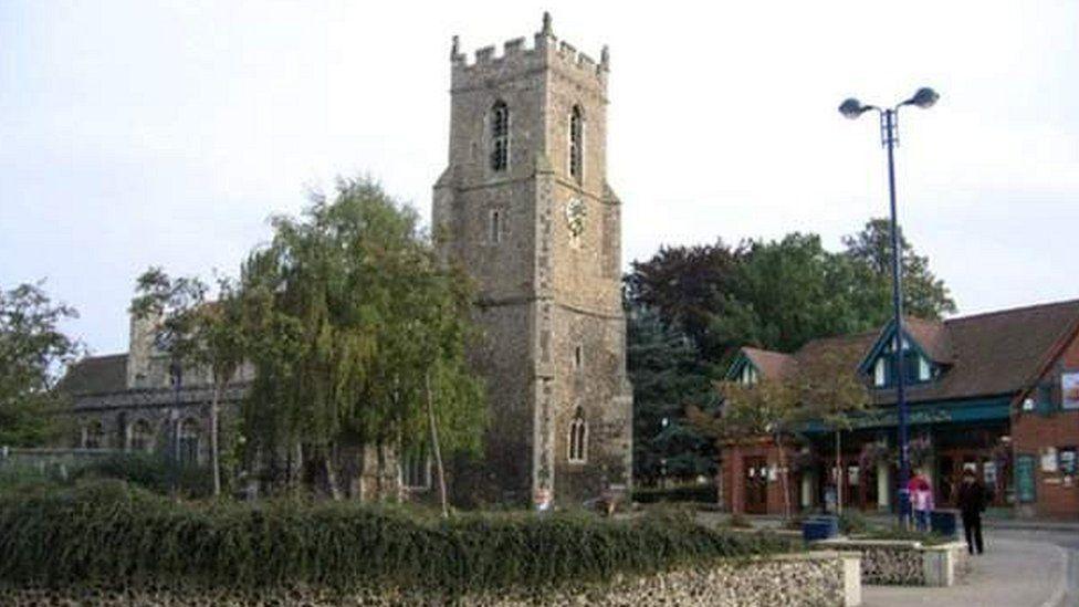 St Mary the Virgin Church in Haverhill