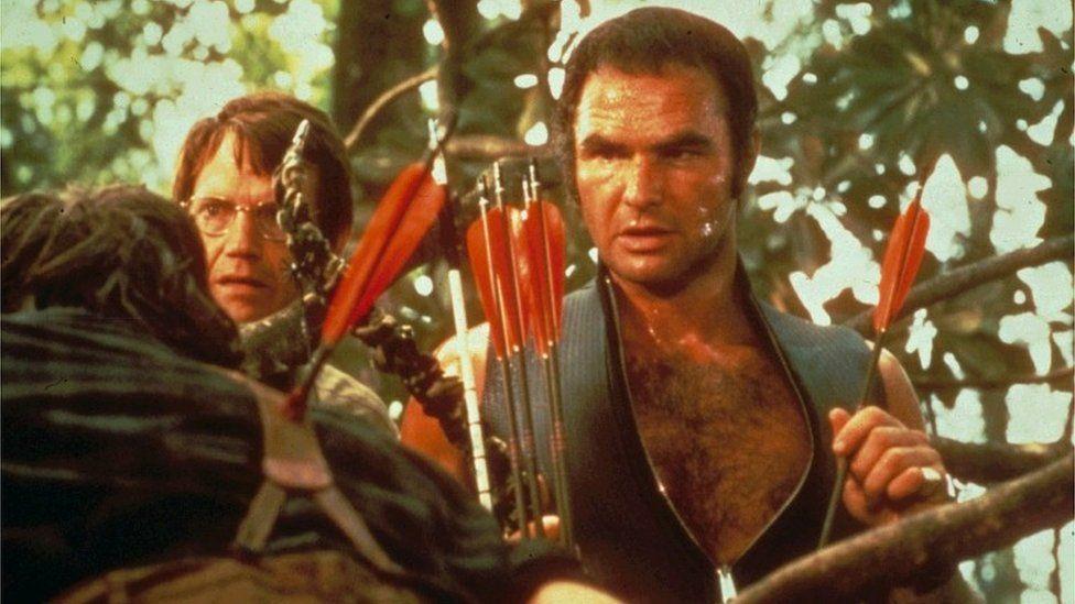 Burt Reynolds in Deliverance